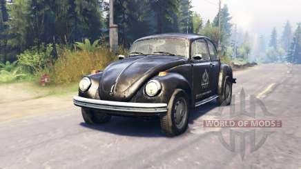 Volkswagen Beetle Custom v2.0 für Spin Tires