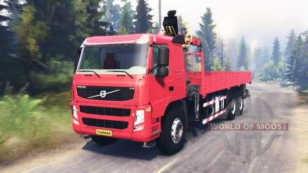 Volvo FM für Spin Tires