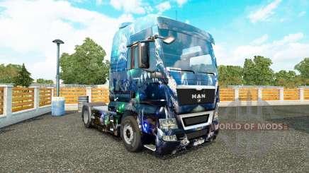 Haut Tiefer Abgrund auf die LKW-MANN für Euro Truck Simulator 2