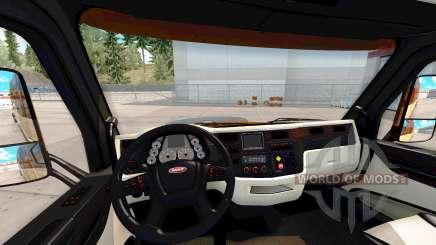 Le Platinium intérieur pour Peterbilt 579 pour American Truck Simulator
