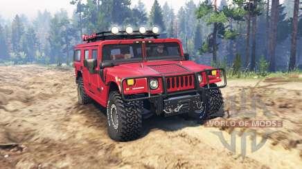 Hummer H1 v3.0 pour Spin Tires