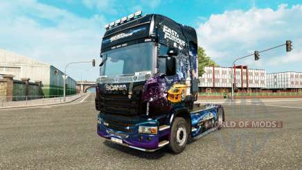 Haut Fast & Furious für den Scania truck für Euro Truck Simulator 2