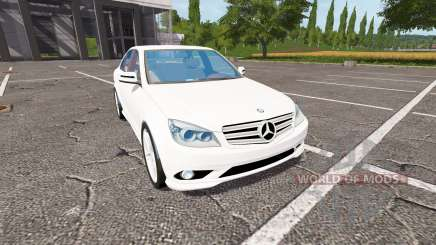 Mercedes-Benz C350 für Farming Simulator 2017