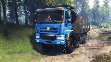 Tatra Phoenix T 158 8x8 v3.0 für Spin Tires