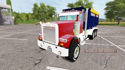 Freightliner FLD 120 dump v1.1 pour Farming Simulator 2017
