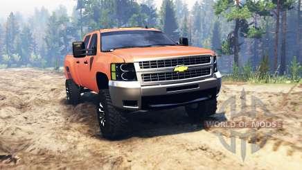 Chevrolet Silverado 2500 pour Spin Tires