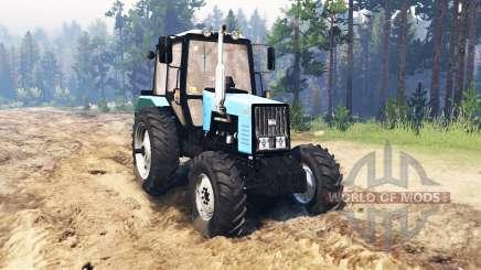 MTZ-1221.2 Biélorussie pour Spin Tires