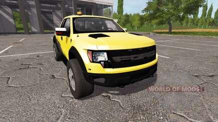 Ford F-150 SVT Raptor autoloader v1.1 pour Farming Simulator 2017
