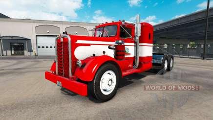 La peau Gavins vous connectant sur tracteur Kenworth 521 pour American Truck Simulator