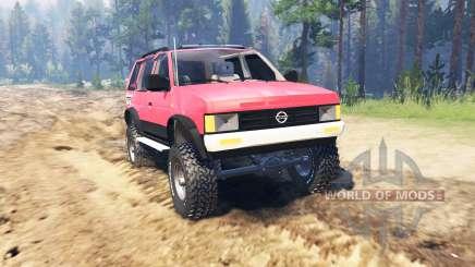 Nissan Pathfinder (WD21) 1994 für Spin Tires