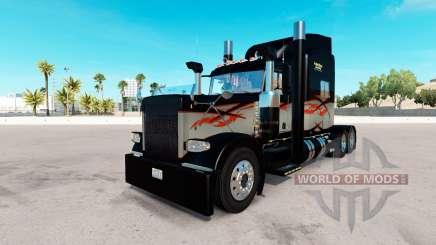 De la peau à Long-Courriers pour le camion Peterbilt 389 pour American Truck Simulator
