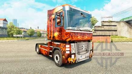 Haut-Fantasy-Krieg für Traktor Renault für Euro Truck Simulator 2