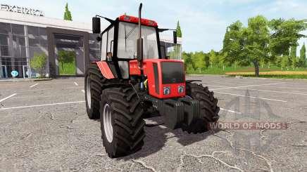 Biélorusse-826 pour Farming Simulator 2017