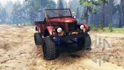 GAZ-69 pour Spin Tires