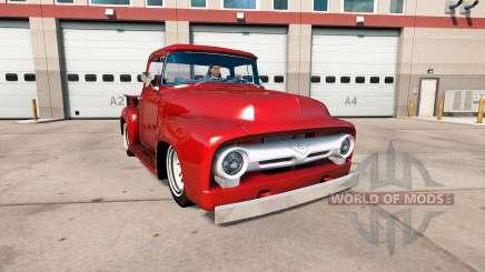 Ford F-100 1956 custom cab pour American Truck Simulator