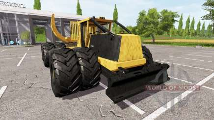 Tigercat 635E clambunk pour Farming Simulator 2017