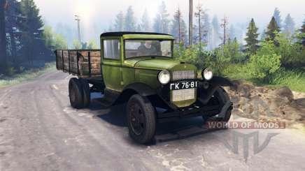 1940 GAZ MM v3.0 pour Spin Tires