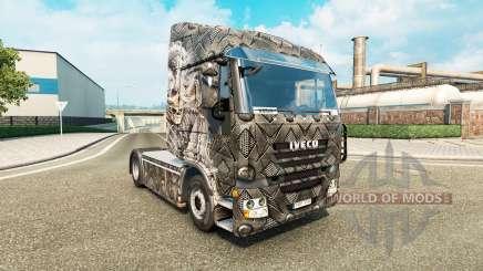 Haut, Skelett Krieger, der für LKW-Iveco für Euro Truck Simulator 2