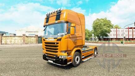 Camaro skin für Scania-LKW für Euro Truck Simulator 2