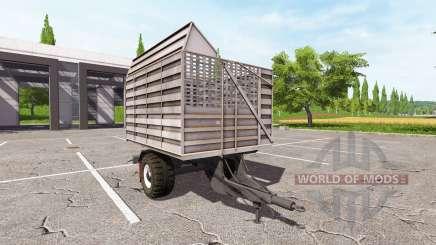 La remorque d'un camion pour Farming Simulator 2017
