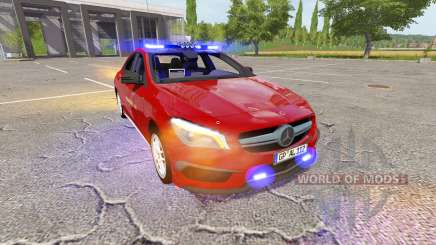 Mercedes-Benz CLA 45 AMG (C117) feuerwehr pour Farming Simulator 2017