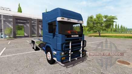 Scania 124L 420 6x4 HookLift pour Farming Simulator 2017