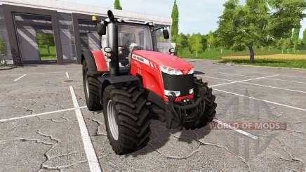 Massey Ferguson 8737 v2.5 für Farming Simulator 2017