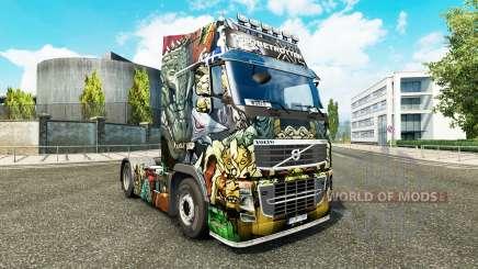 Skin Monster Angriff bei Volvo trucks für Euro Truck Simulator 2