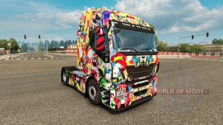 Haut Marvel-Universum auf die LKW-Iveco für Euro Truck Simulator 2