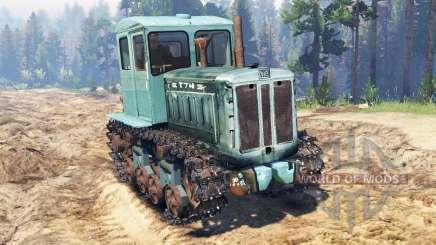 T-74 für Spin Tires