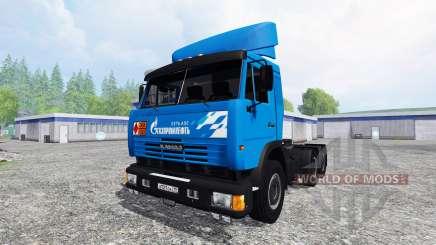 KamAZ-54115 Gazprom Neft v2.0 für Farming Simulator 2015
