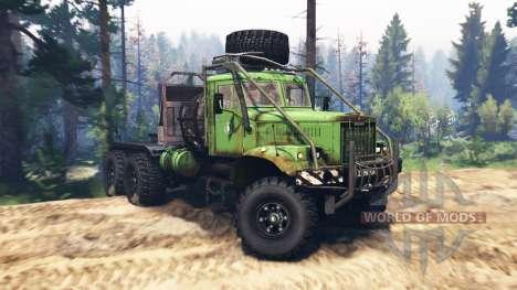 KrAZ 255B v2.0 pour Spin Tires