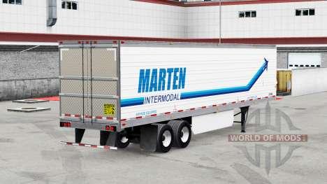 De vrais logos de la société pour les remorques  pour American Truck Simulator