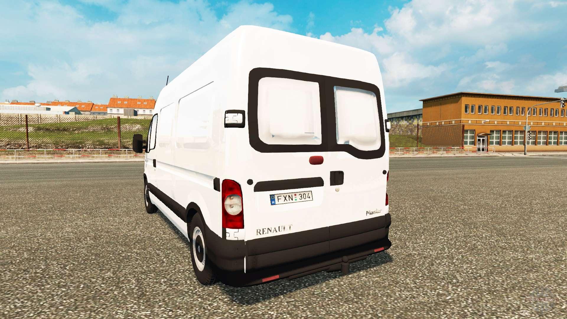 renault master pour euro truck simulator 2. Black Bedroom Furniture Sets. Home Design Ideas