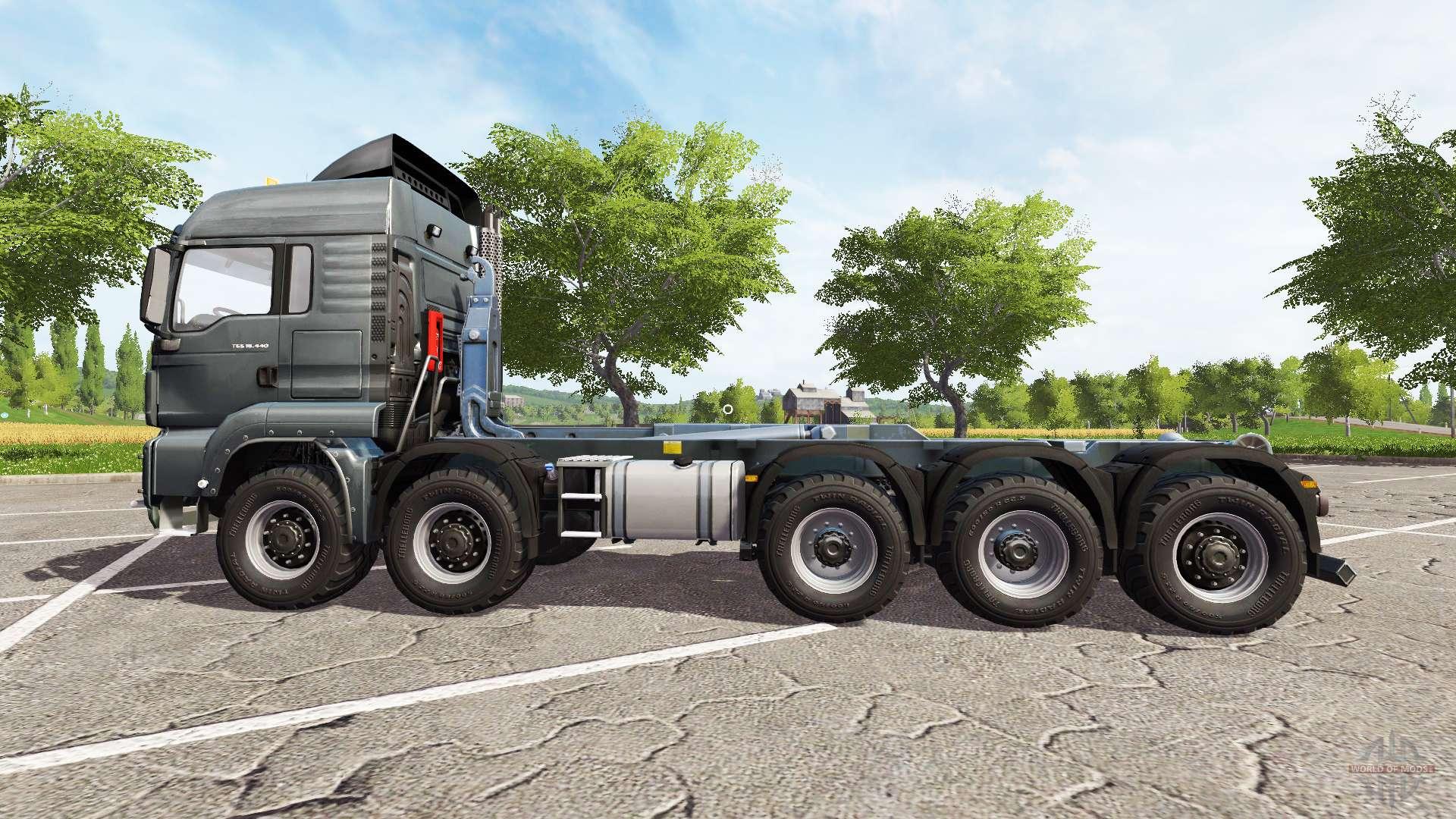 man tgs 10x10 hooklift v2 5 f r farming simulator 2017. Black Bedroom Furniture Sets. Home Design Ideas