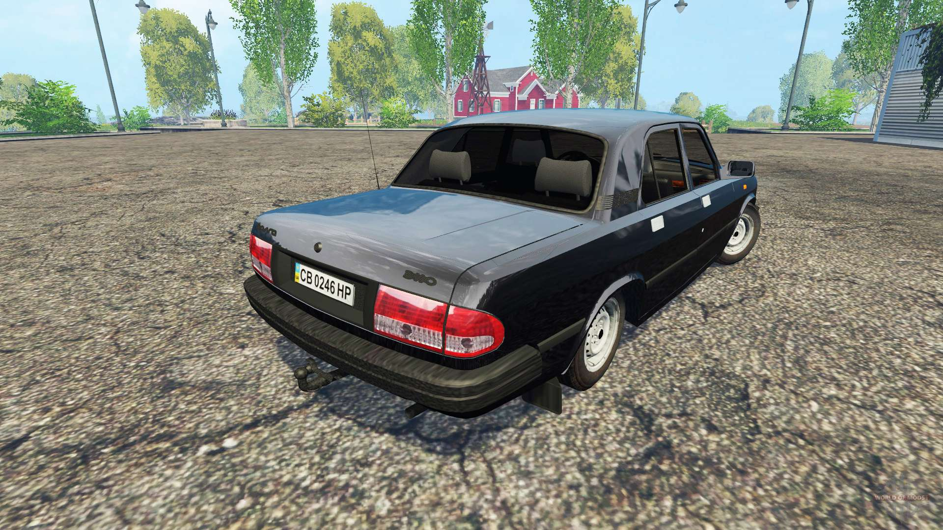 gaz volga 3110 pour farming simulator 2015. Black Bedroom Furniture Sets. Home Design Ideas