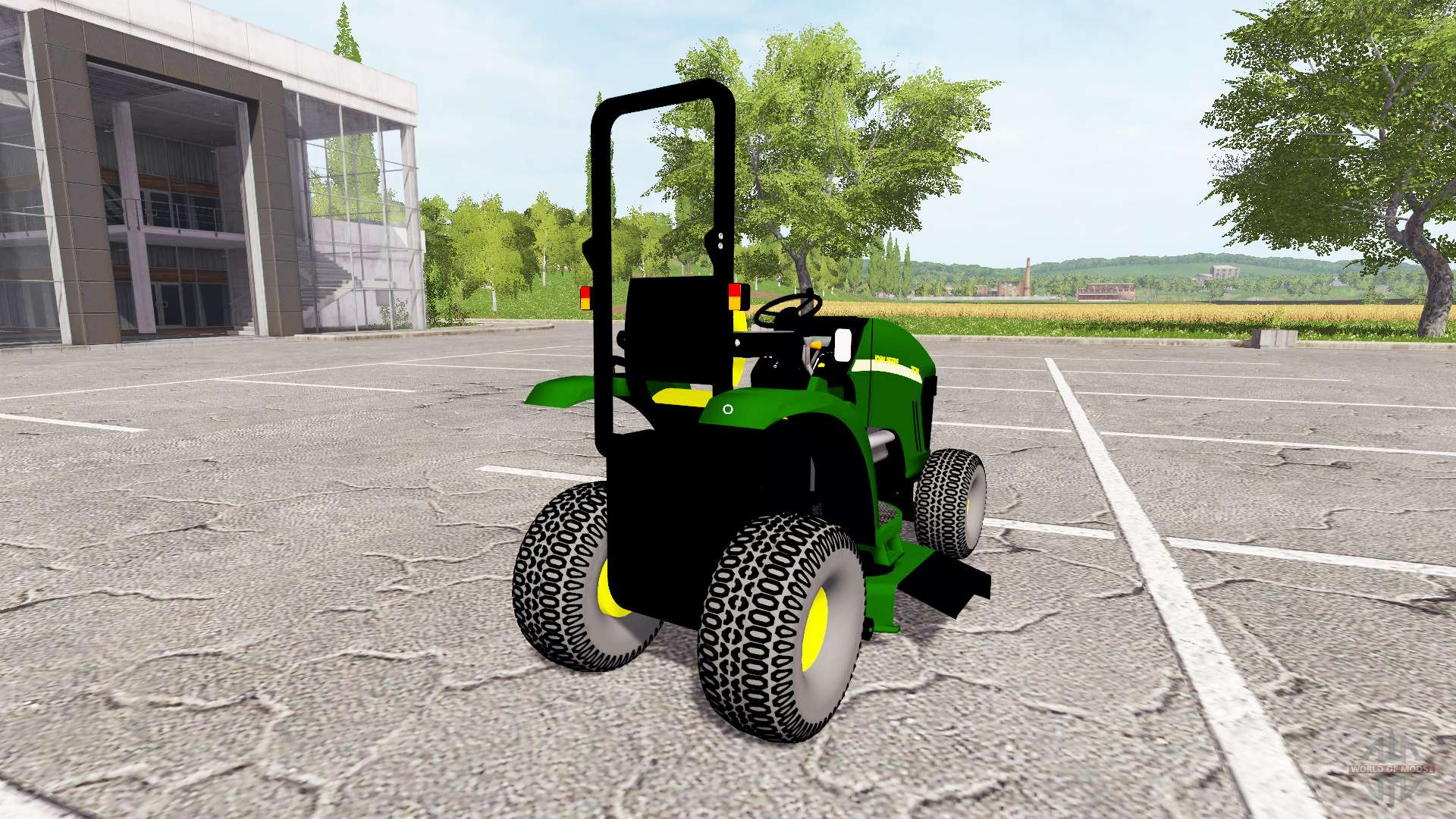 john deere 3520 mower pour farming simulator 2017. Black Bedroom Furniture Sets. Home Design Ideas