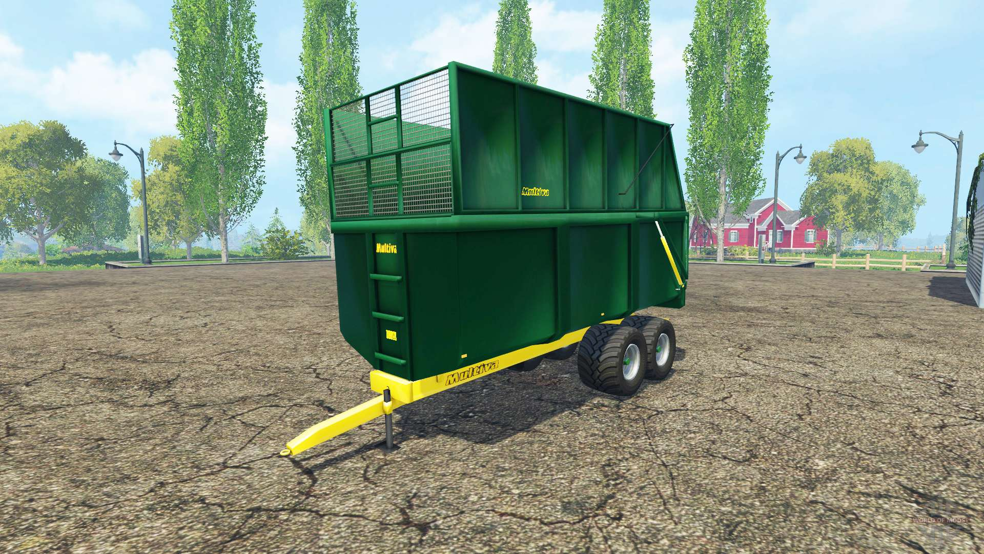 multiva tr 190 pour farming simulator 2015