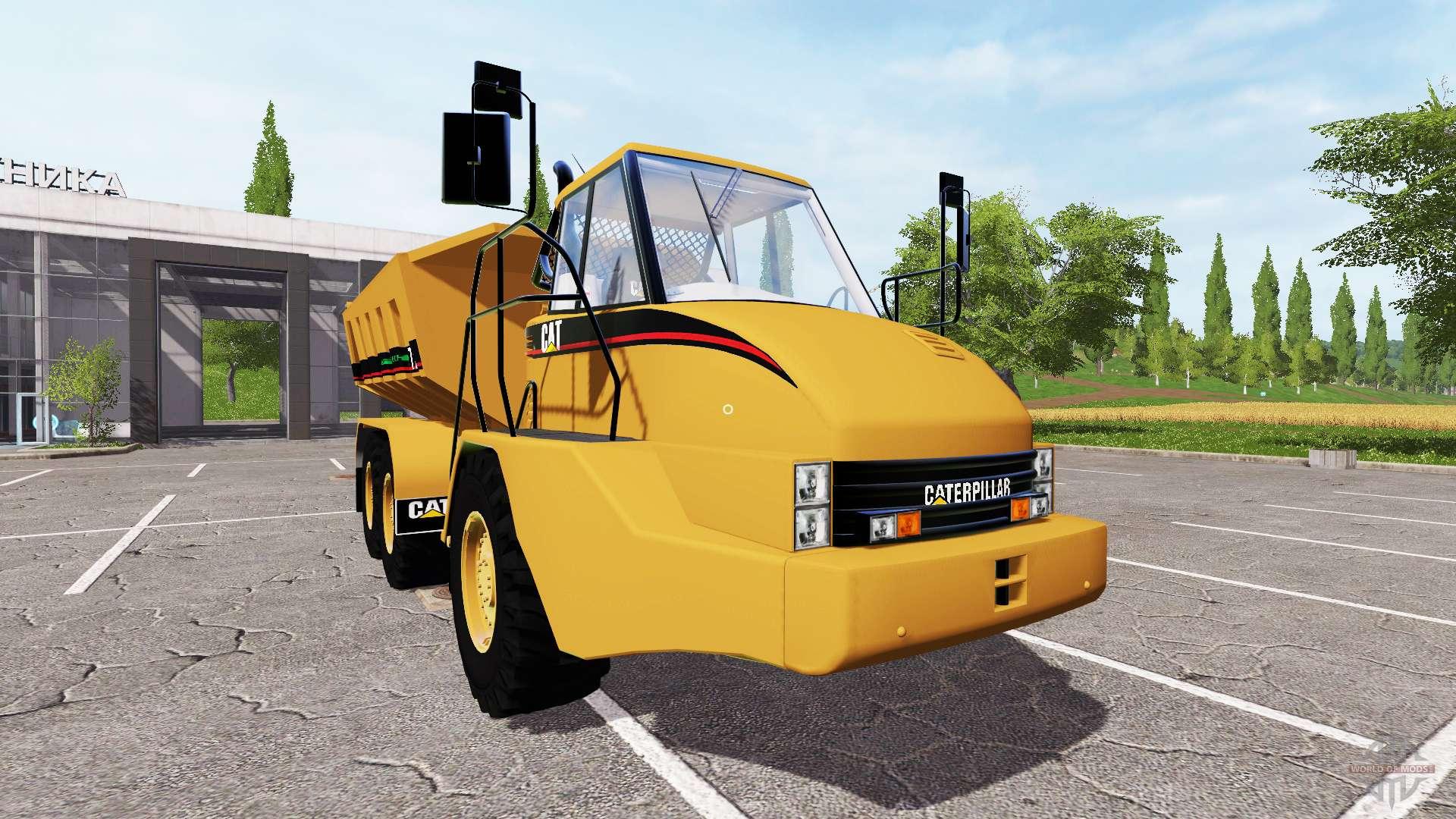 caterpillar 725a f r farming simulator 2017. Black Bedroom Furniture Sets. Home Design Ideas