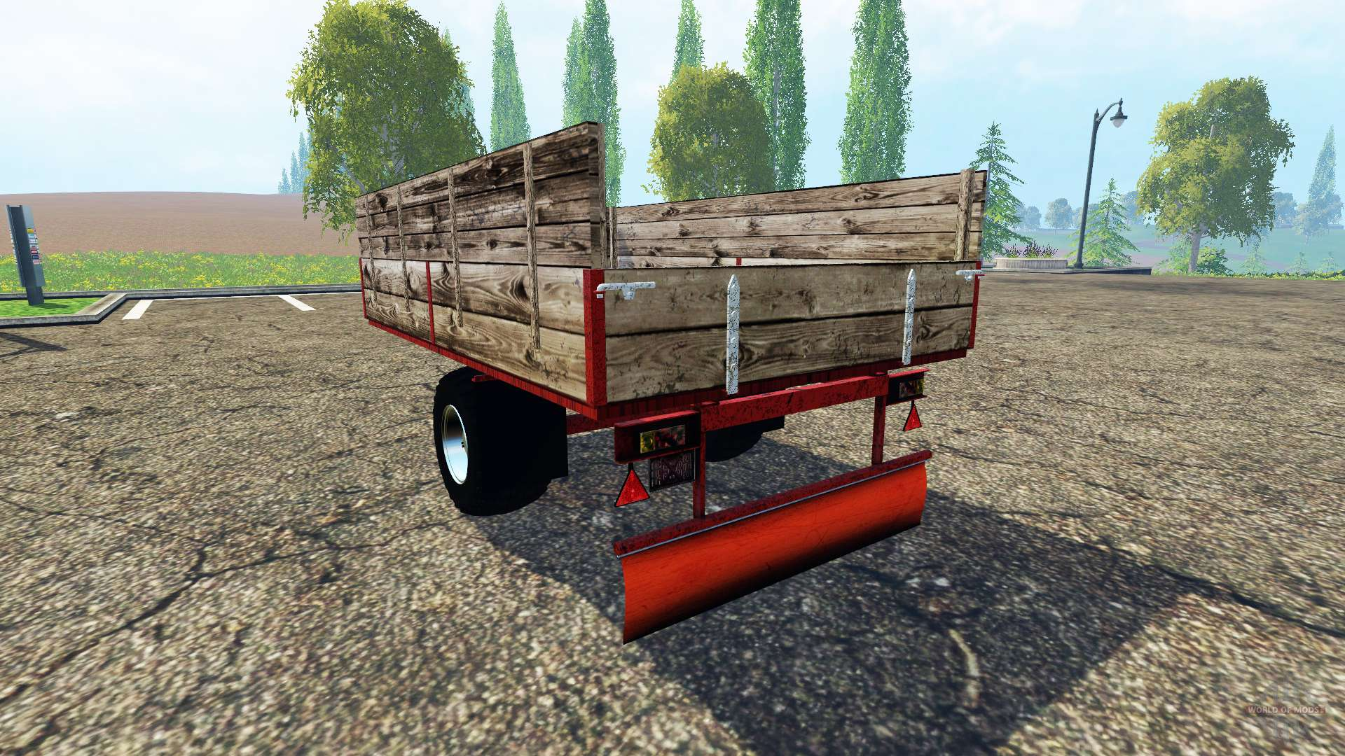 tracteur semi remorque pour farming simulator 2015. Black Bedroom Furniture Sets. Home Design Ideas