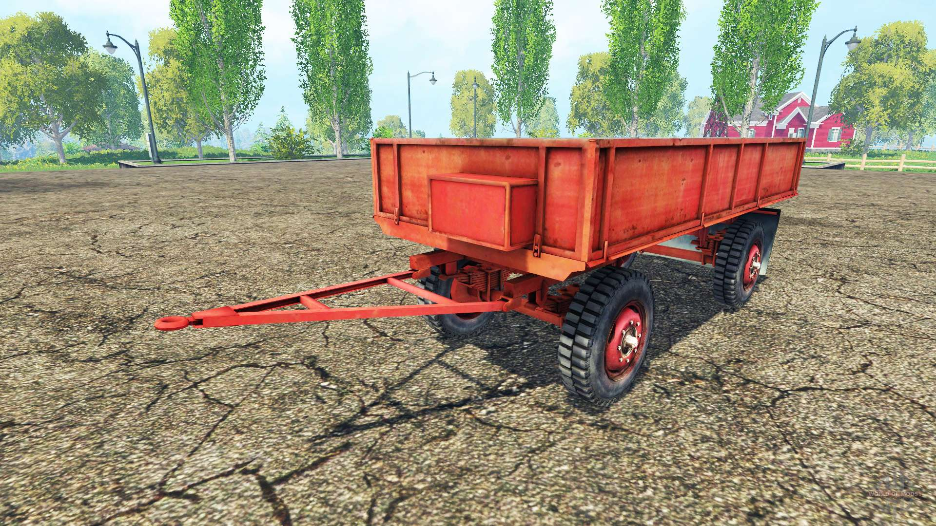 traktor anh nger f r farming simulator 2015. Black Bedroom Furniture Sets. Home Design Ideas