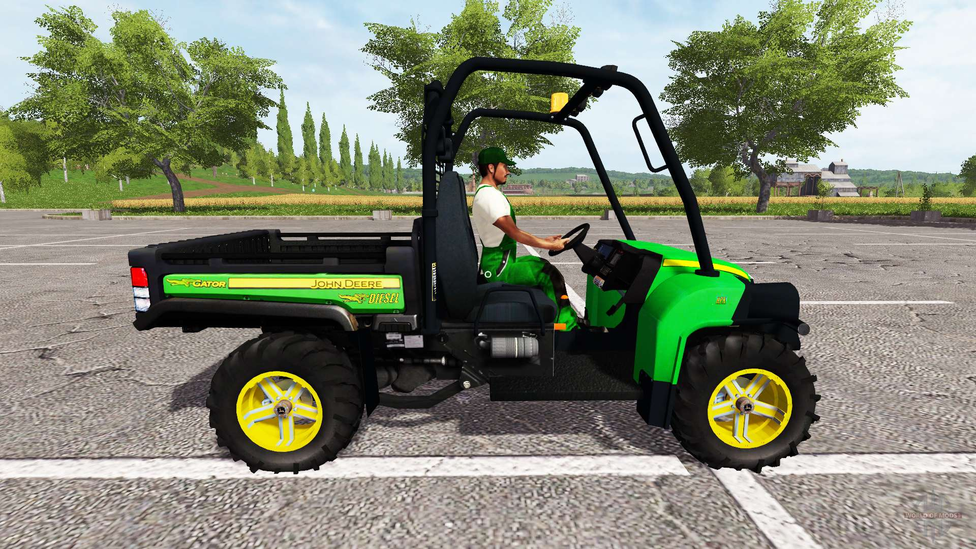 john deere gator 825i pour farming simulator 2017. Black Bedroom Furniture Sets. Home Design Ideas