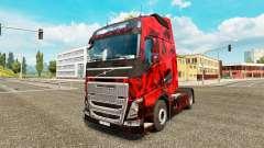 Dämon Schädel Haut für Volvo-LKW