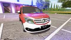 Mercedes-Benz Citan Kastenwagen (W415) pour Farming Simulator 2017