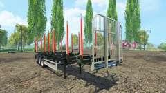 Le bois de la semi-remorque Fliegl v1.5