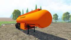 Carburant semi-trailer v2.0