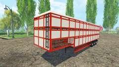 Auflieger-Rinder-Träger für Farming Simulator 2015