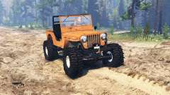 Jeep Willys M38 CJ2A crawler