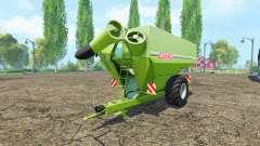 CLAAS Titan 34 UW pour Farming Simulator 2015