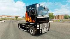 Le Phoenix de la peau pour Renault Magnum tracte